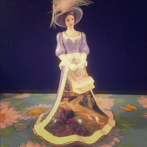 "Kincade ""Peaceful Picnic Retreat"" Porcelain Figure"